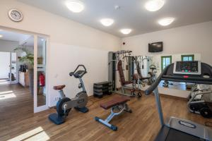 The fitness center and/or fitness facilities at VILA VITA Seedorf