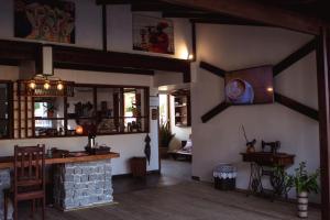 O lounge ou bar de Pousada dos Hibiscus