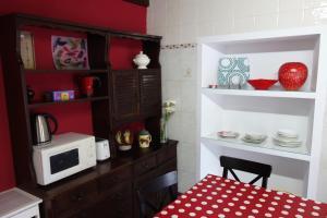 Una cocina o zona de cocina en La Casina de Luarca
