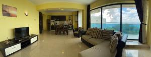 O zonă de relaxare la Athena Executive Apartments Mamaia