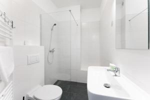 Ein Badezimmer in der Unterkunft Pension Petit
