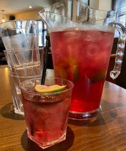 Drinks at Thrums Hotel, Kirriemuir