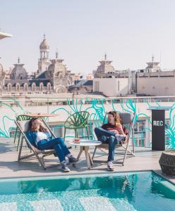 Piscina di Hotel Rec Barcelona - Adults Only o nelle vicinanze
