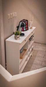 A cozinha ou cozinha compacta de Violette Chalet