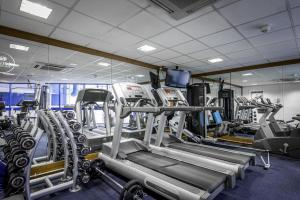 The fitness center and/or fitness facilities at Holiday Inn London Sutton, an IHG Hotel