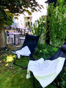 A garden outside Campanile Vichy - Bellerive