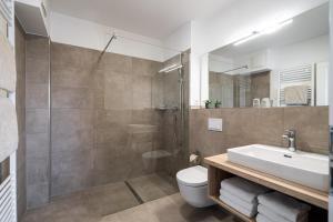 Ein Badezimmer in der Unterkunft Strandhafer Aparthotel