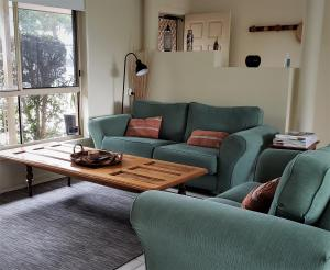 A seating area at Nambucca Beach House