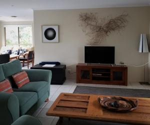 A television and/or entertainment center at Nambucca Beach House