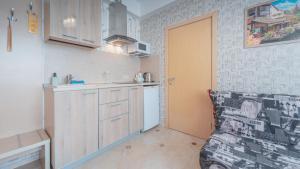 Кухня или мини-кухня в Отель «Эстет»