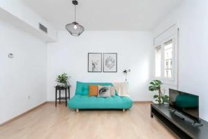 A seating area at Centric Apartments Paseo de Gracia
