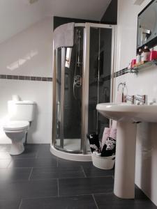 Salle de bains dans l'établissement Carnately Lodge
