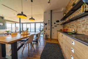 Кухня або міні-кухня у Epirus Hotel