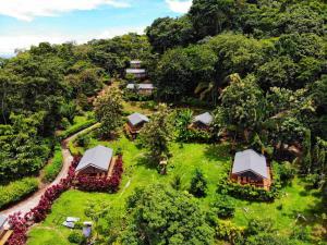A bird's-eye view of Isla Chiquita Glamping Hotel