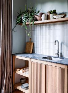 A kitchen or kitchenette at Bondi Beach House