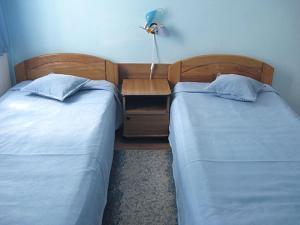 Ένα ή περισσότερα κρεβάτια σε δωμάτιο στο Hostel Sport