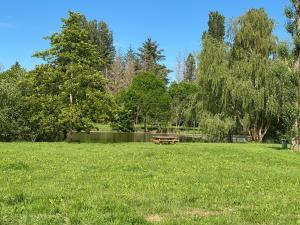Jardin de l'établissement La Pillebourdiere