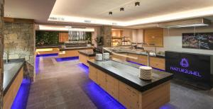 A kitchen or kitchenette at Das Naturjuwel