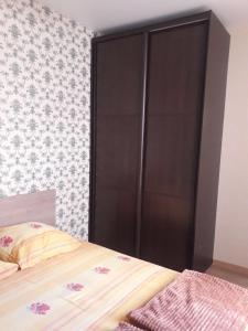 Кровать или кровати в номере Гостевой Дом Подкова