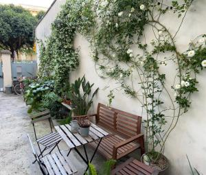 A porch or other outdoor area at Nuvole Barocche B&B