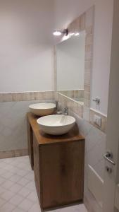A bathroom at La casa di Pier