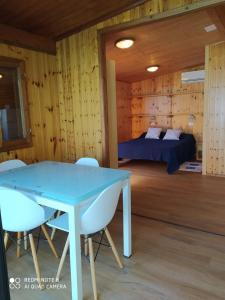 A bed or beds in a room at Villaggio Smeraldo