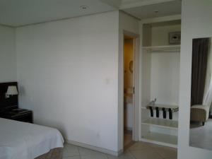 Cama o camas de una habitación en Flat Millenium