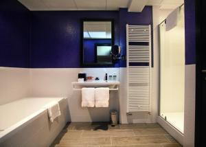 A bathroom at Hotel Sebastians
