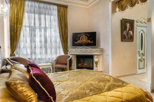 Гостиная зона в Отель Бристоль Центральный