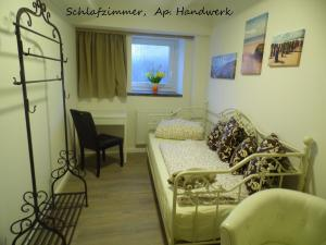 Ein Sitzbereich in der Unterkunft Villa Backstein OBO19