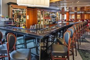 Lounge oder Bar in der Unterkunft Hotel MONDI Bellevue Bad Gastein - OSB02094-CYC