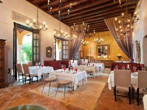 A restaurant or other place to eat at Sofitel Legend Santa Clara Cartagena