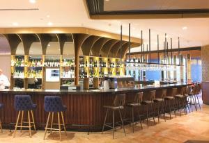 The lounge or bar area at VERT Jerusalem