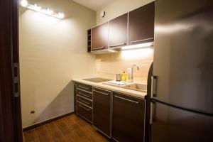 A kitchen or kitchenette at LUCKY APARTMENTS - Old Town
