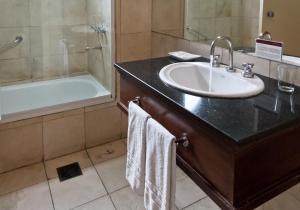 A bathroom at Amérian Executive Hotel Mendoza