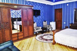 A seating area at Shohkand Hotel
