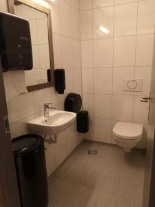 A bathroom at Haglebu Feriesenter