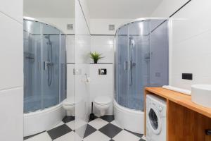 A bathroom at Apartament Zielony Sopot Karlikowo by Renters
