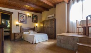 Cama o camas de una habitación en La del Alba Sería