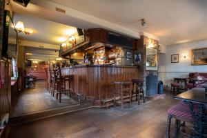 The lounge or bar area at Coach and Horses