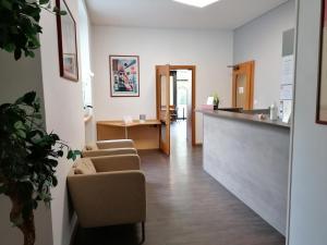 Hall ou réception de l'établissement Hotel du Stand