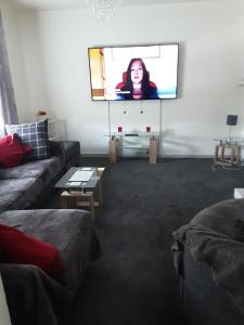A television and/or entertainment center at lyall