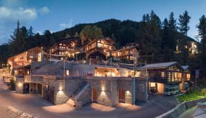 CERVO Mountain Resort during the winter