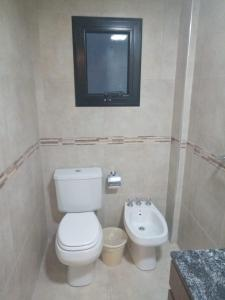 Un baño de Hotel Americano Pergamino