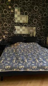 A bed or beds in a room at Двухкомнатные апартаменты на Кутузовском