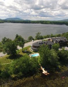 A bird's-eye view of Hotel & Suites Lac-Brome