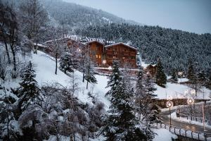 Hotel Nordic during the winter