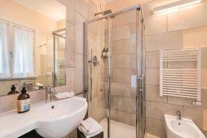 A bathroom at Casa Catò, Welcome Way