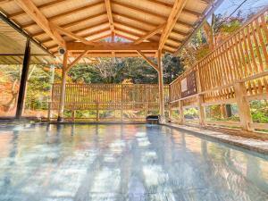 The swimming pool at or near Yukai Resort Yoshinoya Irokuen