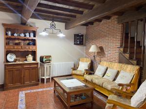 Zona de estar de Hotel rural Rinconada de las Arribes